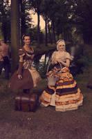 Victorian Wood scene by Frederik82