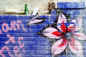Graffiti flower by Frederik82