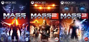 MASS EFFECT Trilogy by Ellunare