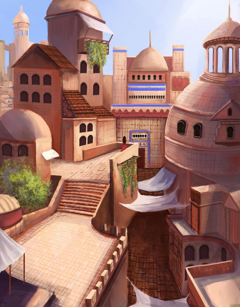 WIP city by T1Mmi