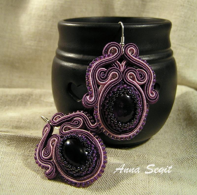 soutache earrings by khetra