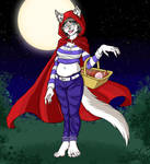Little Red Riding Wolf by DeathstarCocktail