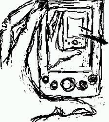 my hand, my hand drawing