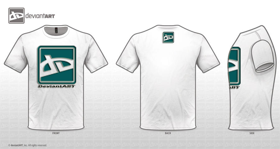 Logo t shirt design challange by zlicrv on deviantart for How to trademark at shirt design