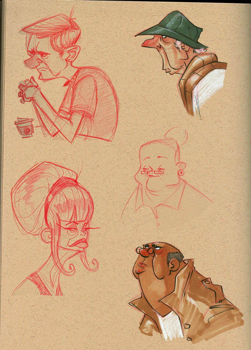 cafe sketches by Jtown67