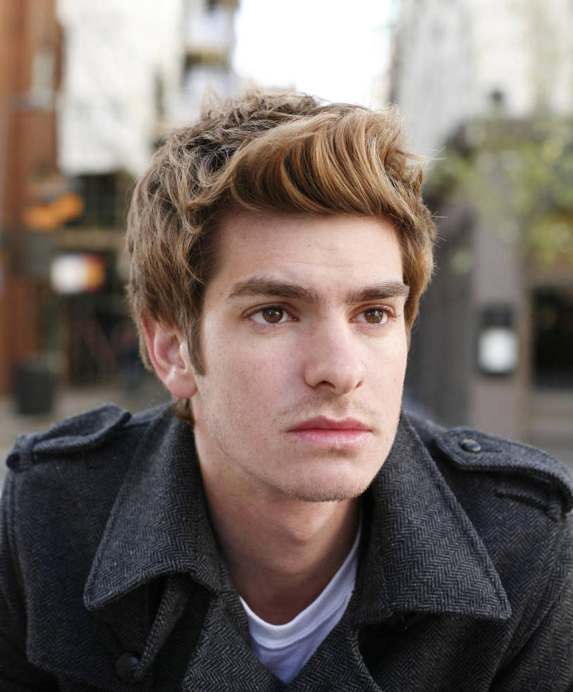 andrew garfield spiderman 2 hair