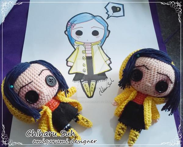 Amigurumi Chibi Doll : Chibi coraline jones by chiharu suh by amigurumi sweetheart on