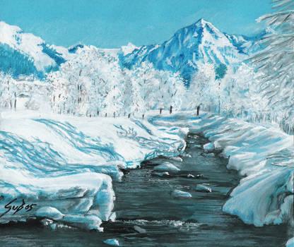 Swiss Winter near Klosters