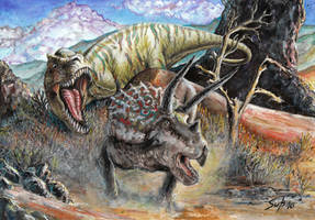 Dinosaurs by shongrek