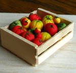 Crate of Tomatoes