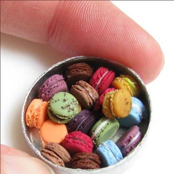 Macaron Tin