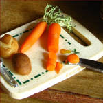 Chopping Carrots and Potatoes