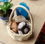 Basket of Artisan Breads