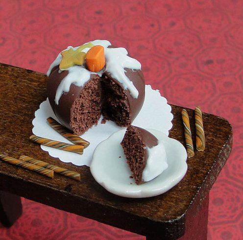 Chocolate Pumpkin Cake by fairchildart