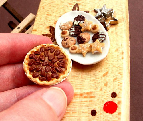 Pecan Pie Christmas Cookies by fairchildart