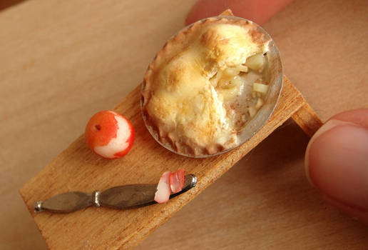 1:12 Scale Apple Pie