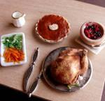 1:12 Scale Thanksgiving Dinner