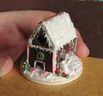 Dollhouse Miniature Gingerbread House