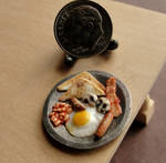 1:12 Scale English Breakfast