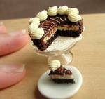 1:12 Scale Cheesecake