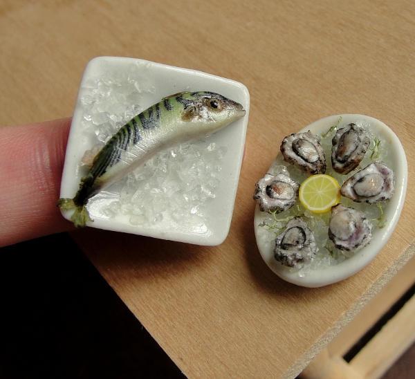 Miniatures on Ice by fairchildart