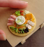 1:12 Scale Appetizer Platter Remake
