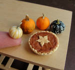 1:12 Scale Pumpkin Pie