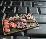Dollhouse Sushi Platter