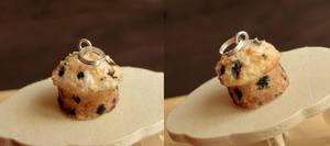 Blueberry Muffin Pendant