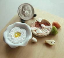 1:12 Scale Pear Tart Preparation by fairchildart