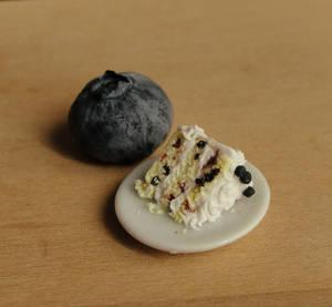 1:12 Scale Blueberry Lemon Cake