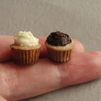 Polymer Clay Cupcake Duo