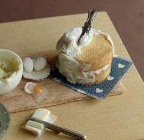 Yellow Cake Preparation by fairchildart