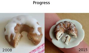 Bundt Cake Progress