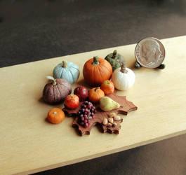 1:12 Scale Autumn Harvest