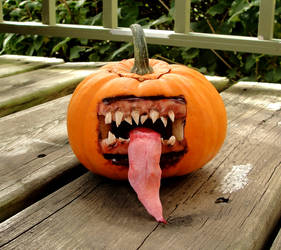 This year's pumpkin