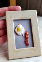 Egg and Bacon by fairchildart