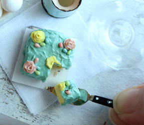 Easter Cake by fairchildart