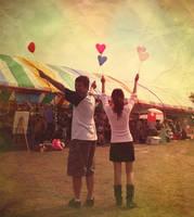 i love fun fairs by michyy