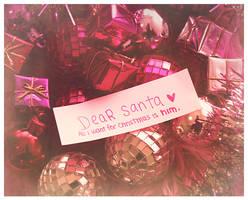 dear santa by michyy