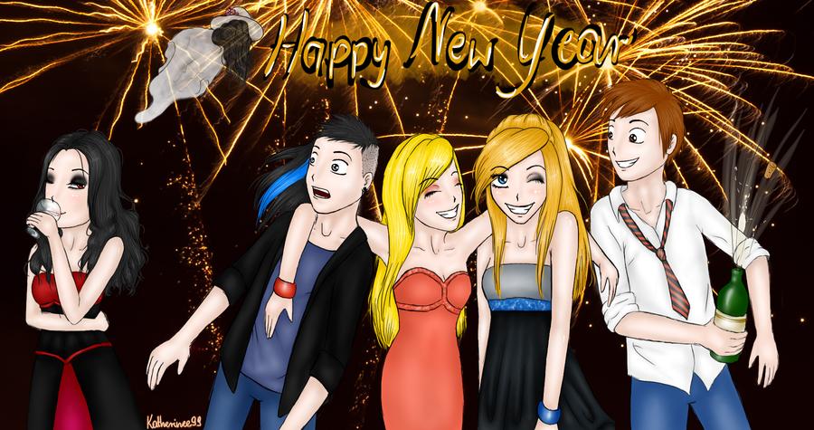 Happy New Year by Kazuren