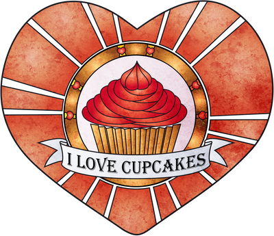 I love cupcakes by chante-cler