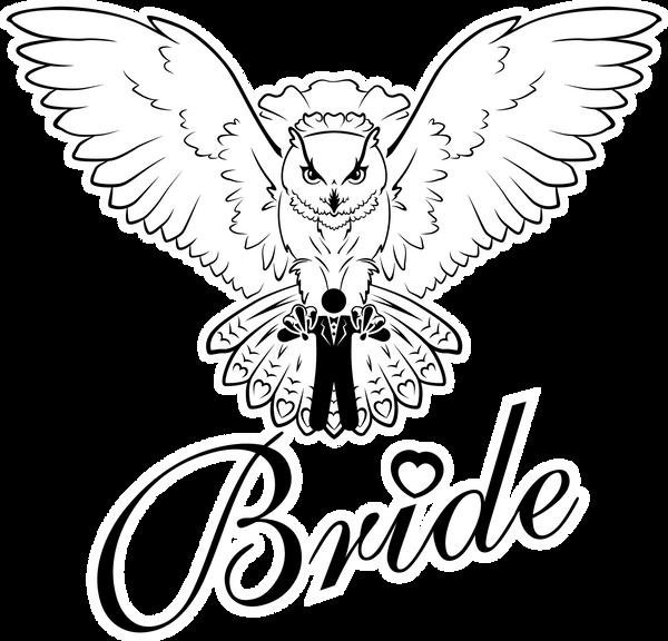 Bride owl by chante-cler