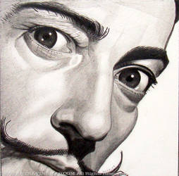 Dali - Pencil by ckoffler