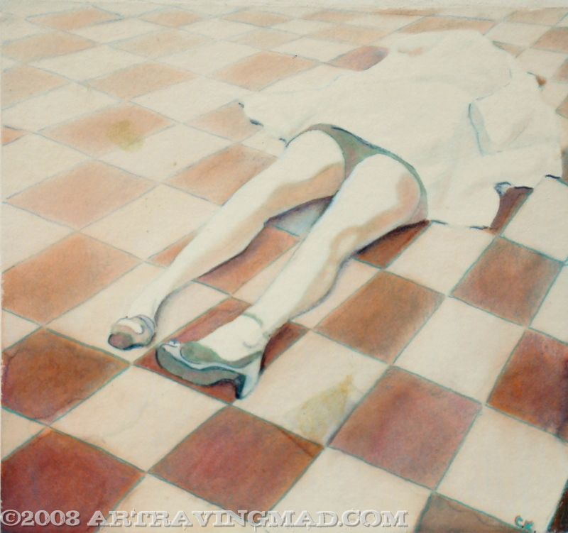 Eric Downey Legs by ckoffler