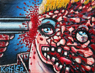 Shot In The Head I by ckoffler