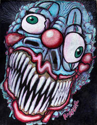 BLUE CLOWN
