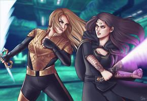 Captain Sylvia Tilly vs Empress Vaylin