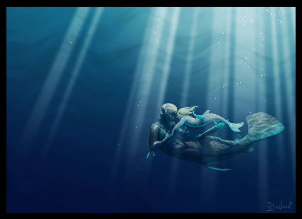 Underwater dance by rivalmit