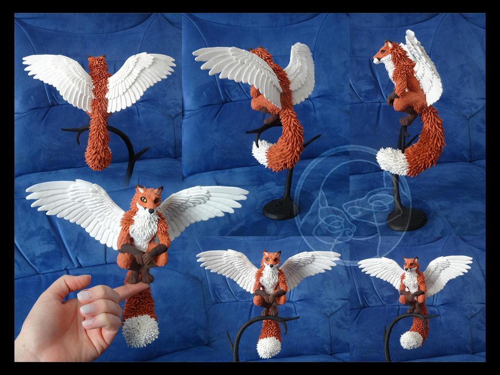 Desk guardian companion- Fox by rivalmit